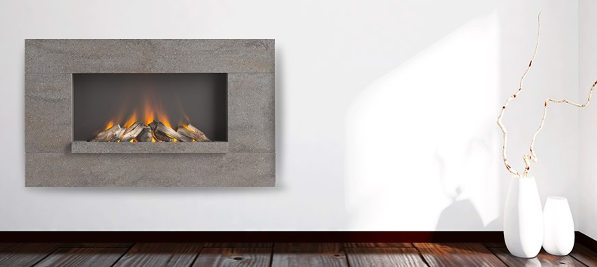 Corian® Lifestyle Electric Fire