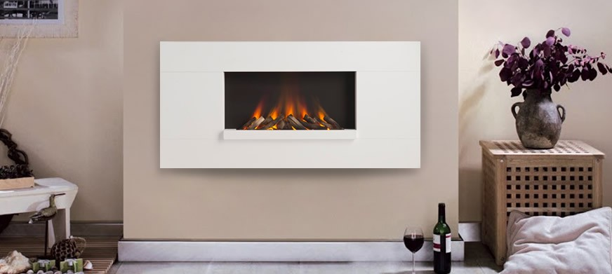 Corian® Lifestyle L Electric Fire