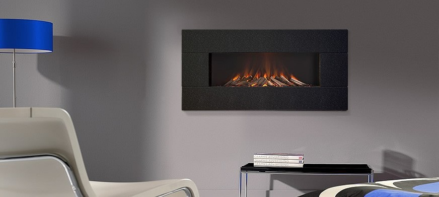 Corian® Linear Electric Fire