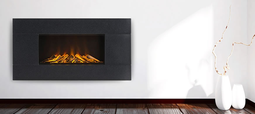 Corian® Newdawn L Electric Fire