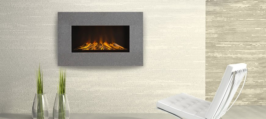 Corian® Newdawn Electric Fire