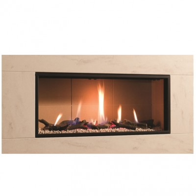 Good As New DRU Global 100 BF-02 (Engine) Gas Fire