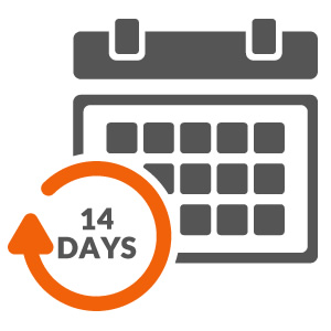 14 Days Return Policy