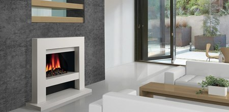 Slab E Electric Fire