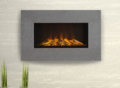 Introducing The Stunning Corian® Newdawn Electric Fire